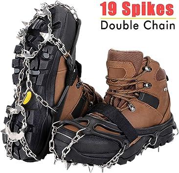 Ice Cleats Steigeisen Traction Snow Grips für Damen Herren Stiefel