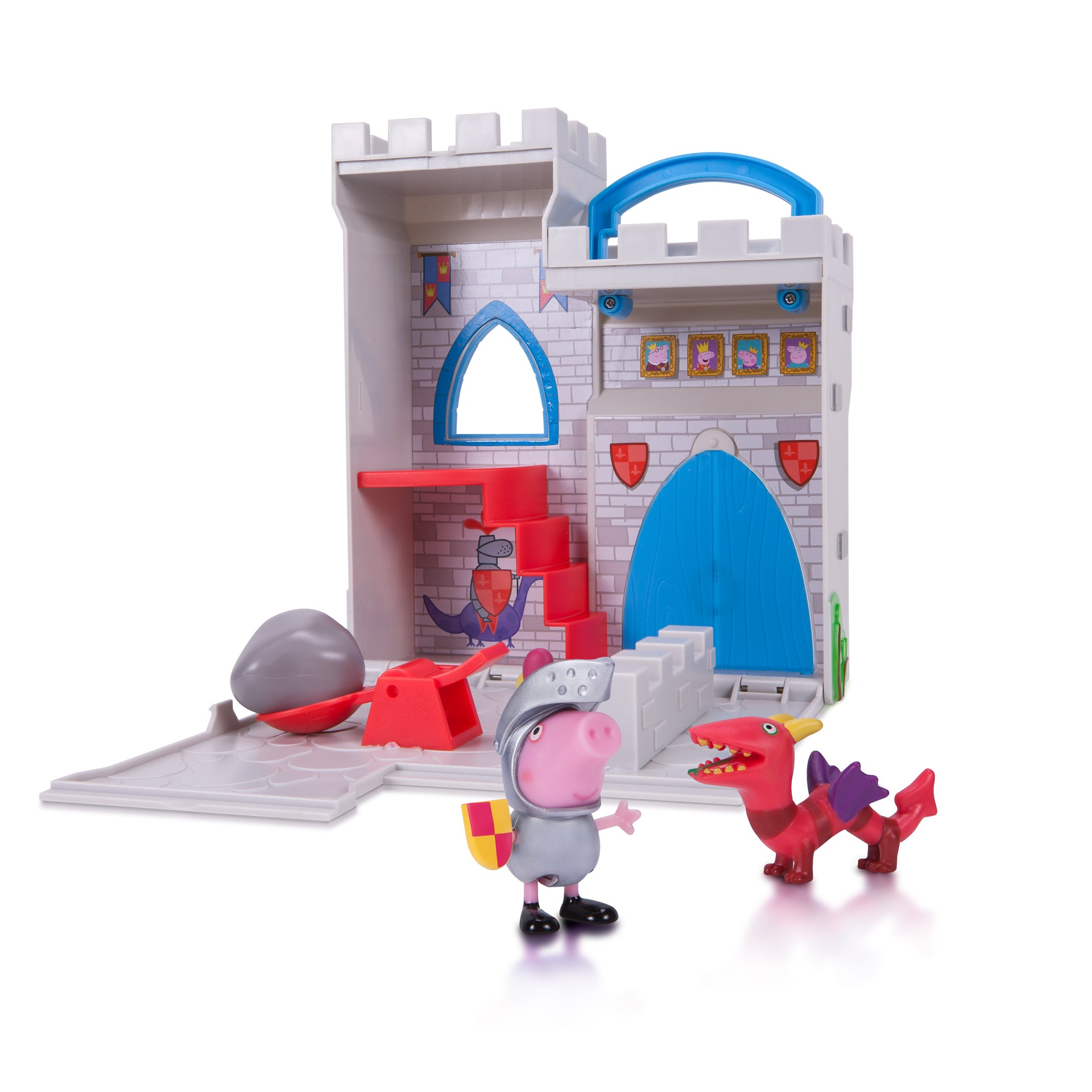 Peppa Pig Little Places Playset, Castle Fort