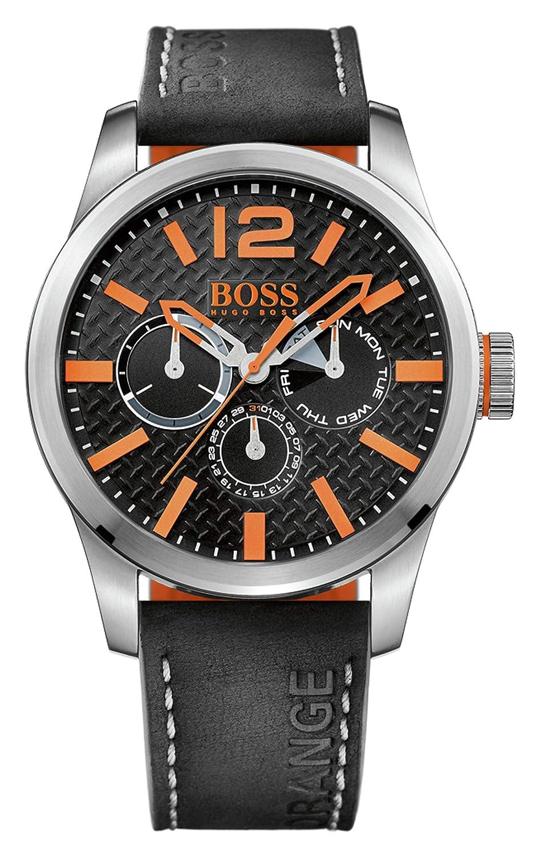 Reloj  de pulsera analógico Hugo Boss Orange para Hombre, 1513228, Negro