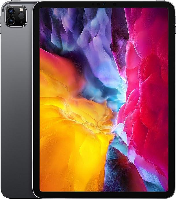 2020年新版 Apple 苹果 iPad Pro 11英寸平板电脑(256G WLAN版/全面屏/A12Z/Face ID)深空灰色 $849 海淘转运到手约¥6079