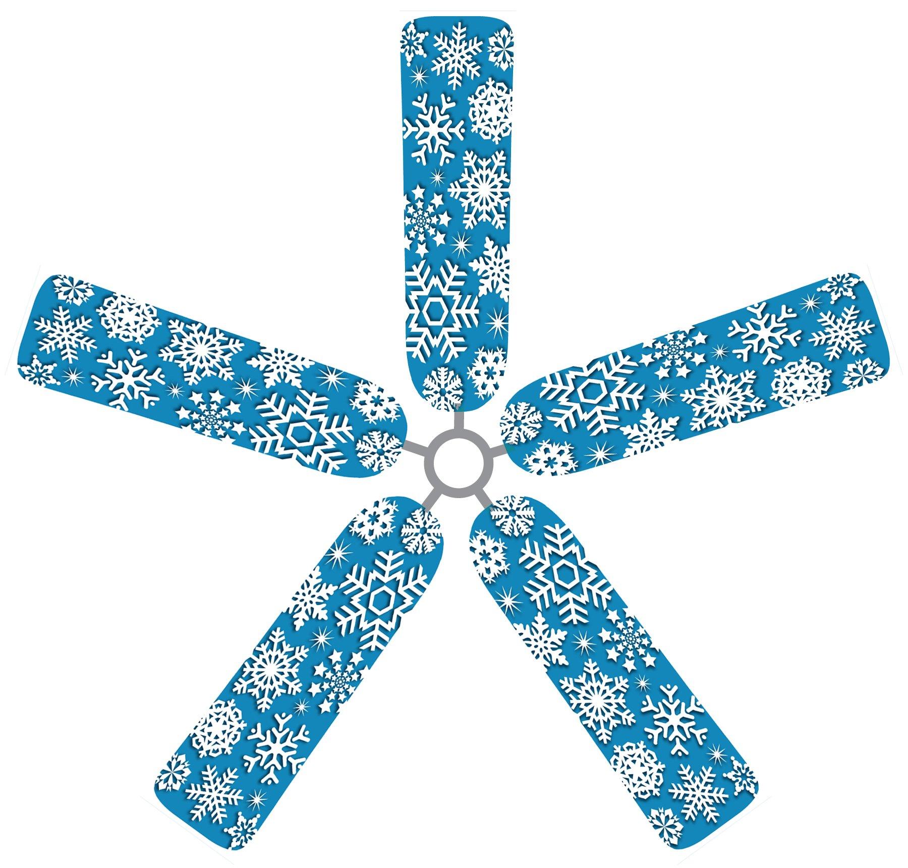 Fan Blade Designs Snowflake Ceiling Fan Blade Covers