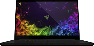 Razer Blade - Worlds Smallest 15.6in Gaming Laptop - 60Hz 4K Touch, 8th Gen Intel Core i7-8750H, GeForce GTX 1070 Max-Q, 16GB RAM, 512GB SSD (Renewed)