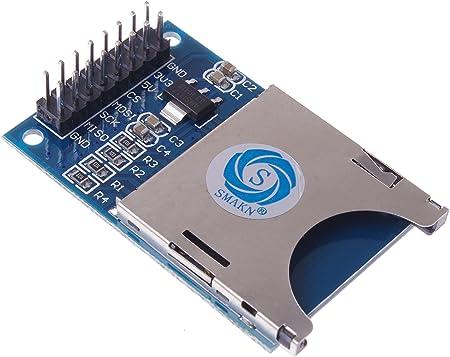 SD Memory Card Reader Module Slot Socket Reader SPI for Arduino ARM MCU New
