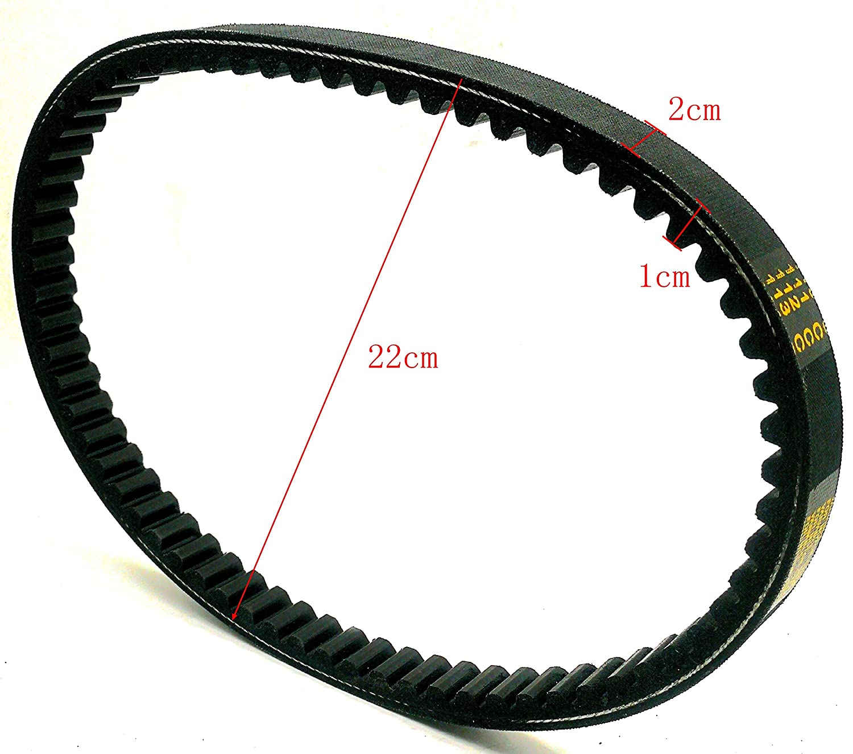 Loofu Drive Belt 725 compatible with 30 Series Torque Converter Belts