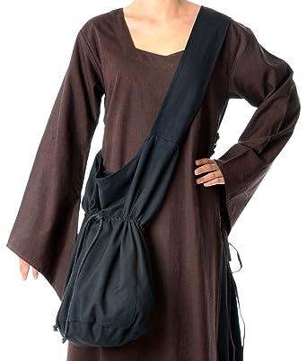d18eff5c22354 HEMAD Mittelalter Umhänge-Tasche braun schwarz rot grün blau beige Baumwolle Leinenlook  Mittelalterliche Kleidung