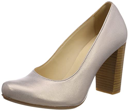 Pinto Di BLU Nightingale, Zapatos de Tacón con Punta Cerrada para Mujer, Marrón (Bronze 42), 37 EU PintoDiBlu