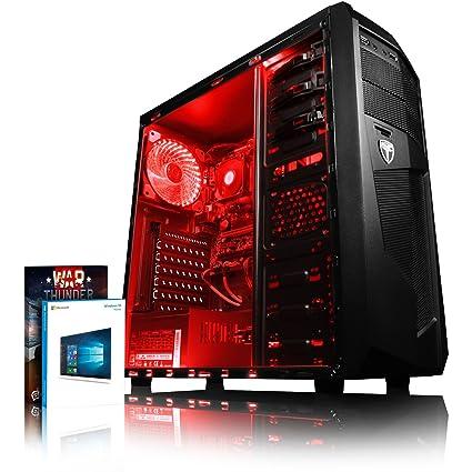 VIBOX Standard 3L Gaming PC Ordenador de sobremesa con War Thunder Cupón de Juego, Windows 10 Pro OS (3,4GHz AMD A8 Quad-Core Procesador, Radeon R7 ...