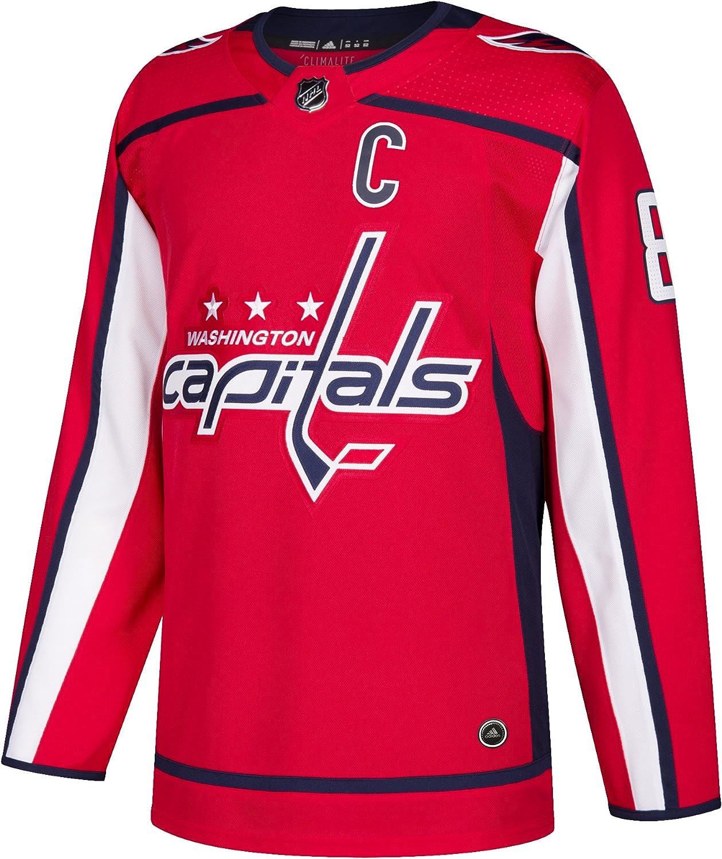 Alex Ovechkin Washington Capitals Adidas NHLメンズAuthenticレッドHockey Jersey  50/M