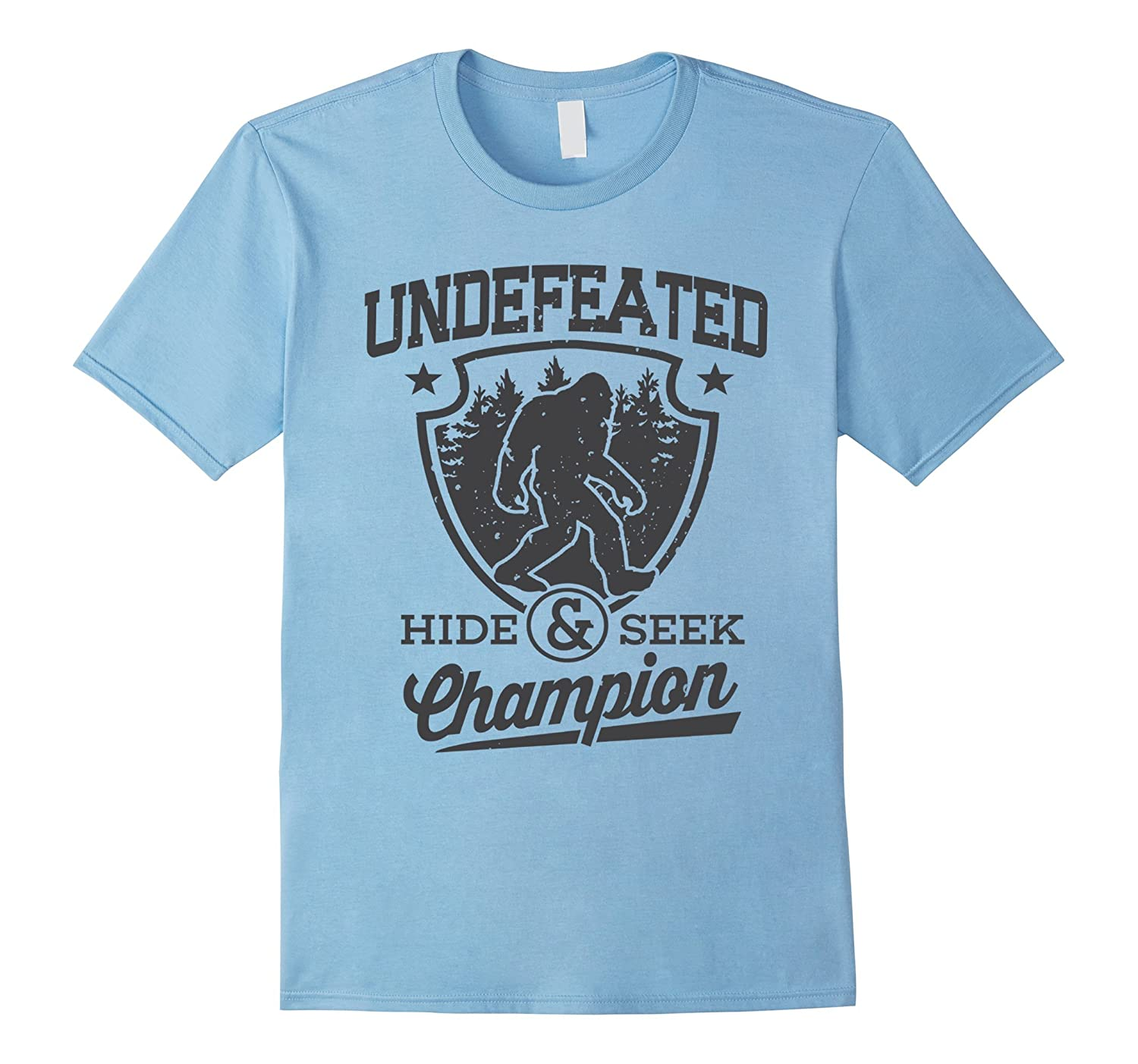 2af5f560 Bigfoot T-shirt Undefeated Hide Seek Sasquatch Yeti Gift-PL – Polozatee