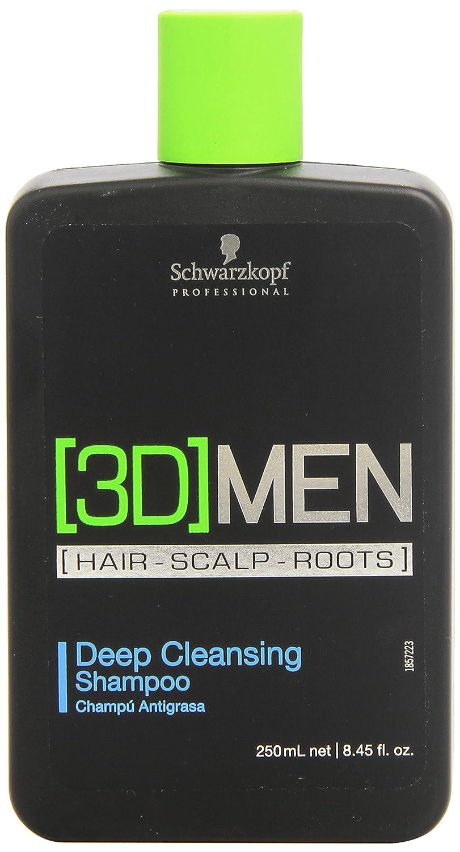Schwarzkopf Professional 3D Mension Champú Antigrasa - 250 ml ...