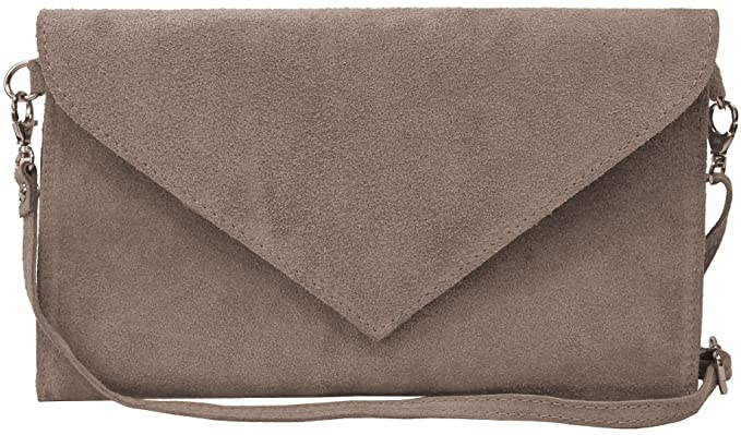 Venice-Wild Clutch Evening / Real Suede Womens 28 CM (width x height 18 CM) Bags4less egaeMpvowy