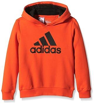 adidas Essentials Logo - Sudadera con Capucha para niño, Color Naranja, Talla 176: Amazon.es: Deportes y aire libre