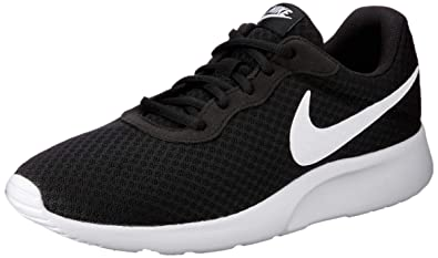 reputable site b6130 3618f Nike Tanjun, Baskets Homme, Noir (Black White 011), 43 EU