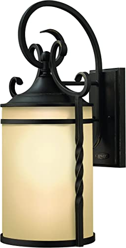Hinkley 1145OL Traditional One Light Wall Mount from Casa collection in Bronze Darkfinish,