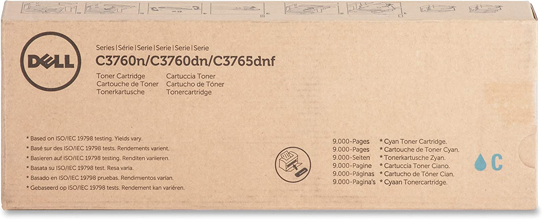 Dell DLL1M4KP - 331-8432 EHY Cyan Toner