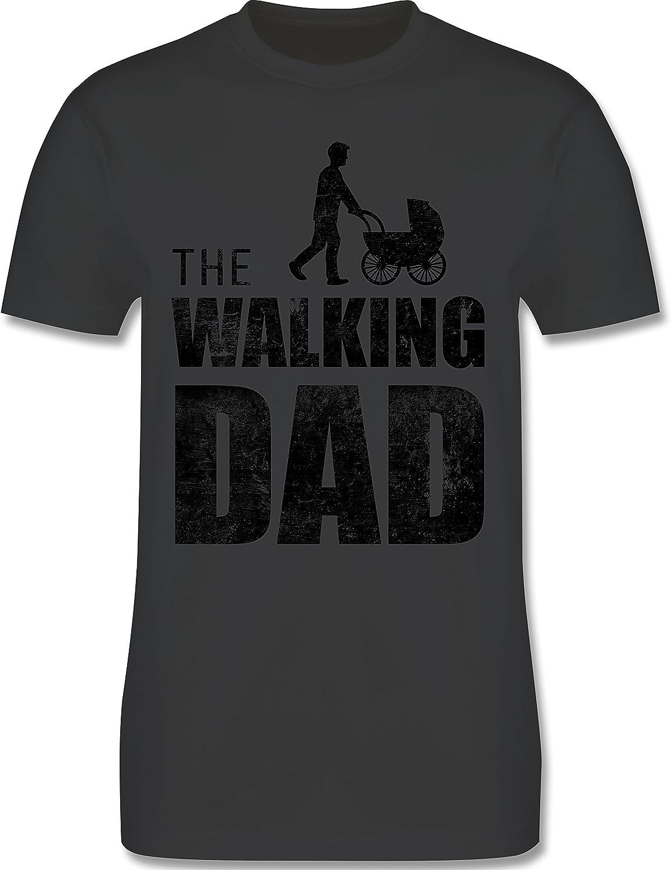 Shirtracer Camisetas Hombre The Walking Dad Regalo de cumplea/ños para el Padre
