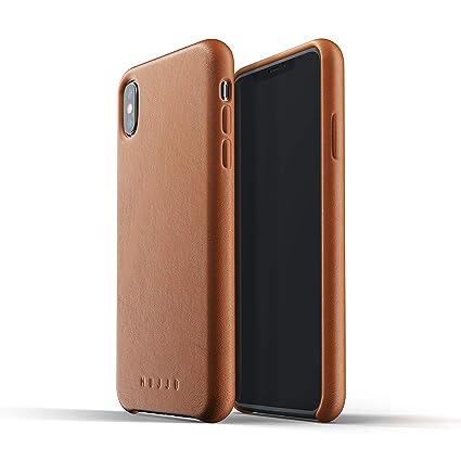 big sale 96131 ffbbe Amazon.com: Mujjo Full Leather Case for iPhone Xs Max | Premium ...