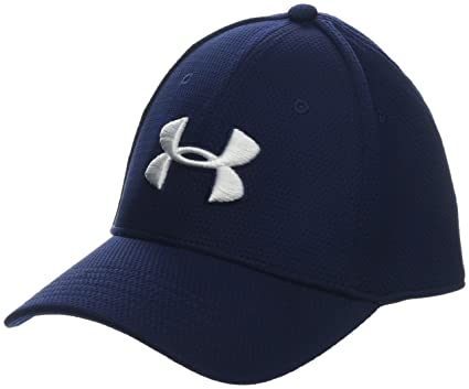 Under Armour Blitzing II Gorra, Hombre, Azul (Midnight Navy/White 417)