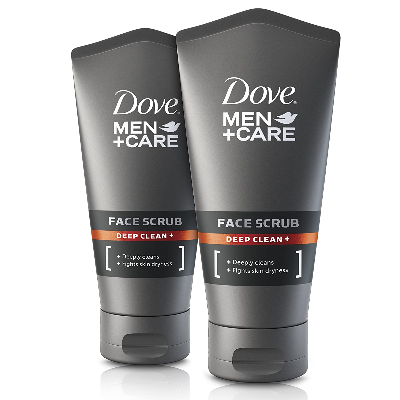 Dove - For men, Exfoliante facial, pack de 2 x 150ml Unilever 8757453