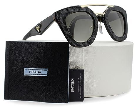 Amazon.com: Prada spr14s Ornate anteojos de sol Havana W ...