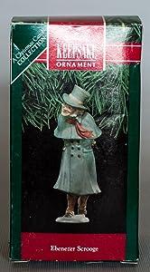 HALLMARK Keepsake Ornament EBENEZER SCROOGE Christmas CAROL COLLECTION