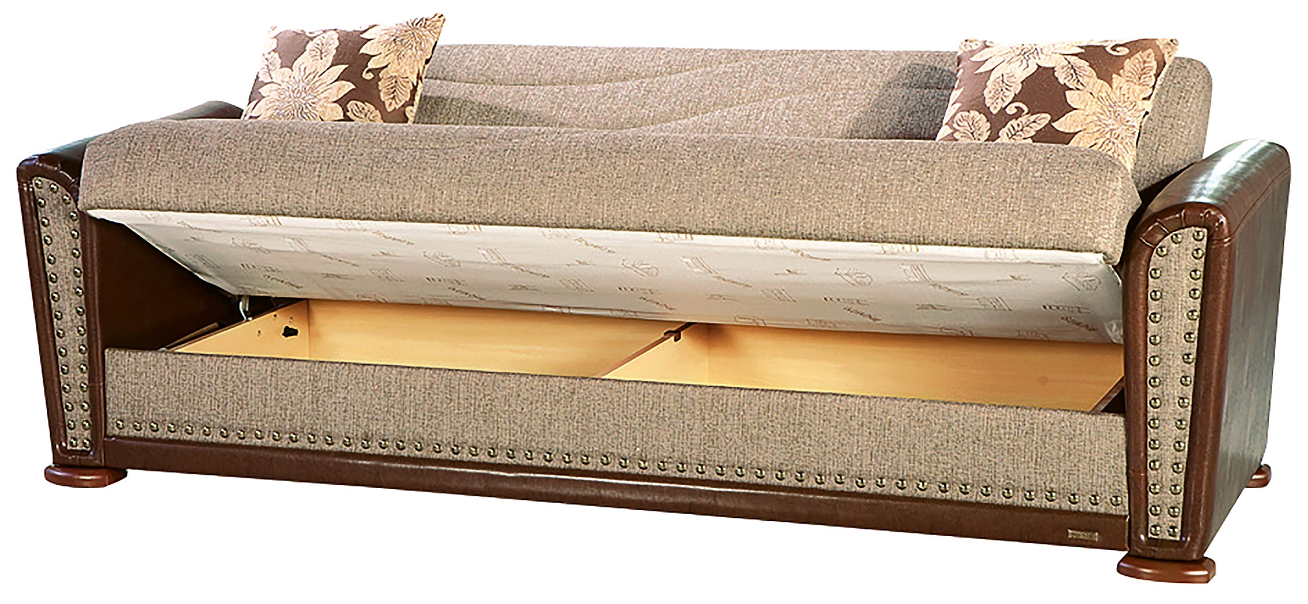 Istikbal Alfa Sofa Bed in Redeyef Brown -  - sofas-couches, living-room-furniture, living-room - 816%2BBMu9ilL -