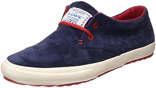 El Ganso New Model Dark Blue Suede - Zapatillas para Hombre, Color Azul, Talla 40: Amazon.es: Zapatos y complementos