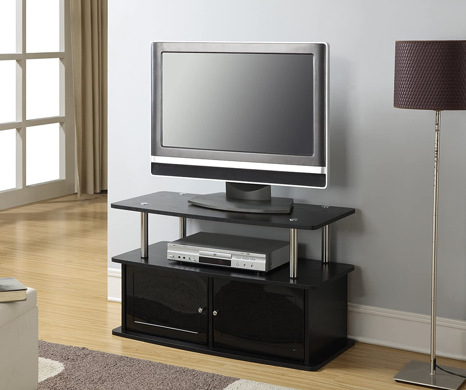 tv stand for flat panel tvs up to inch or pound new - tvstandforflatpaneltvs