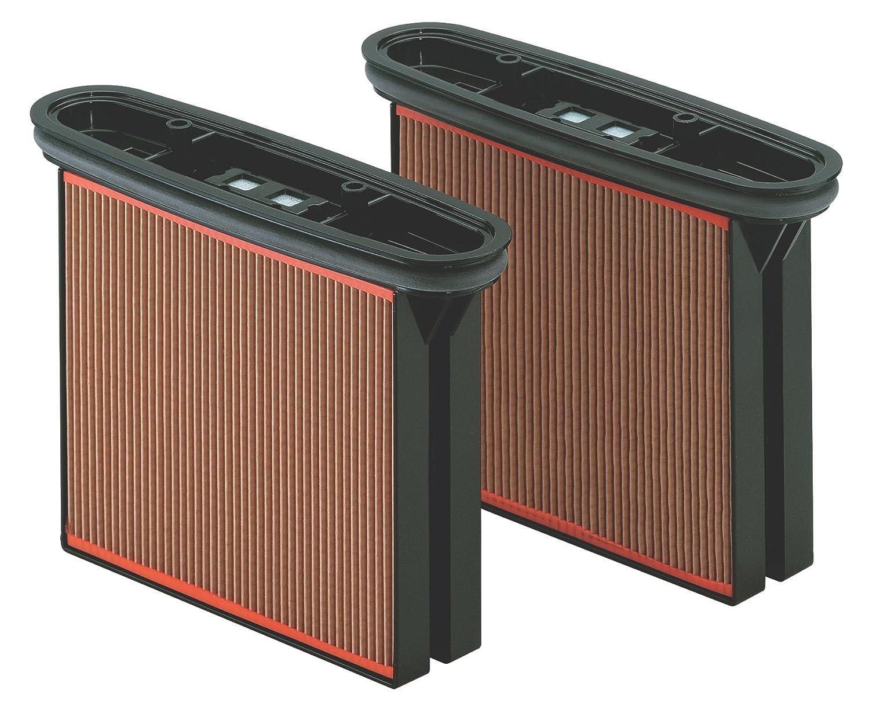 Metabo 631933000 - Cartucce filtranti in carta per ASA 2025, ASR 2025, ASR 2050, SHR 2050 M
