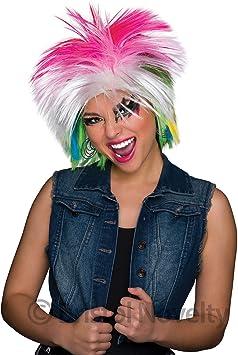 80s Female Wig Multi Coloured (disfraz): Amazon.es: Juguetes y juegos