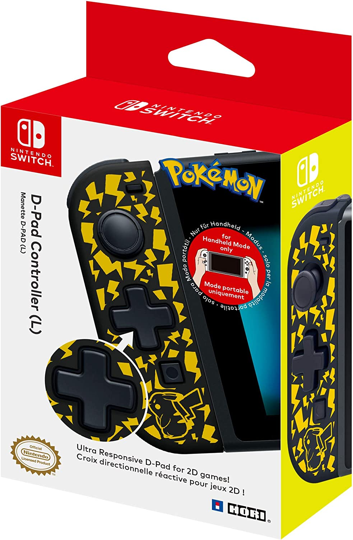 Hori - Controlador D-Pad (L) Pikachu (Nintendo Switch): Amazon.es: Videojuegos
