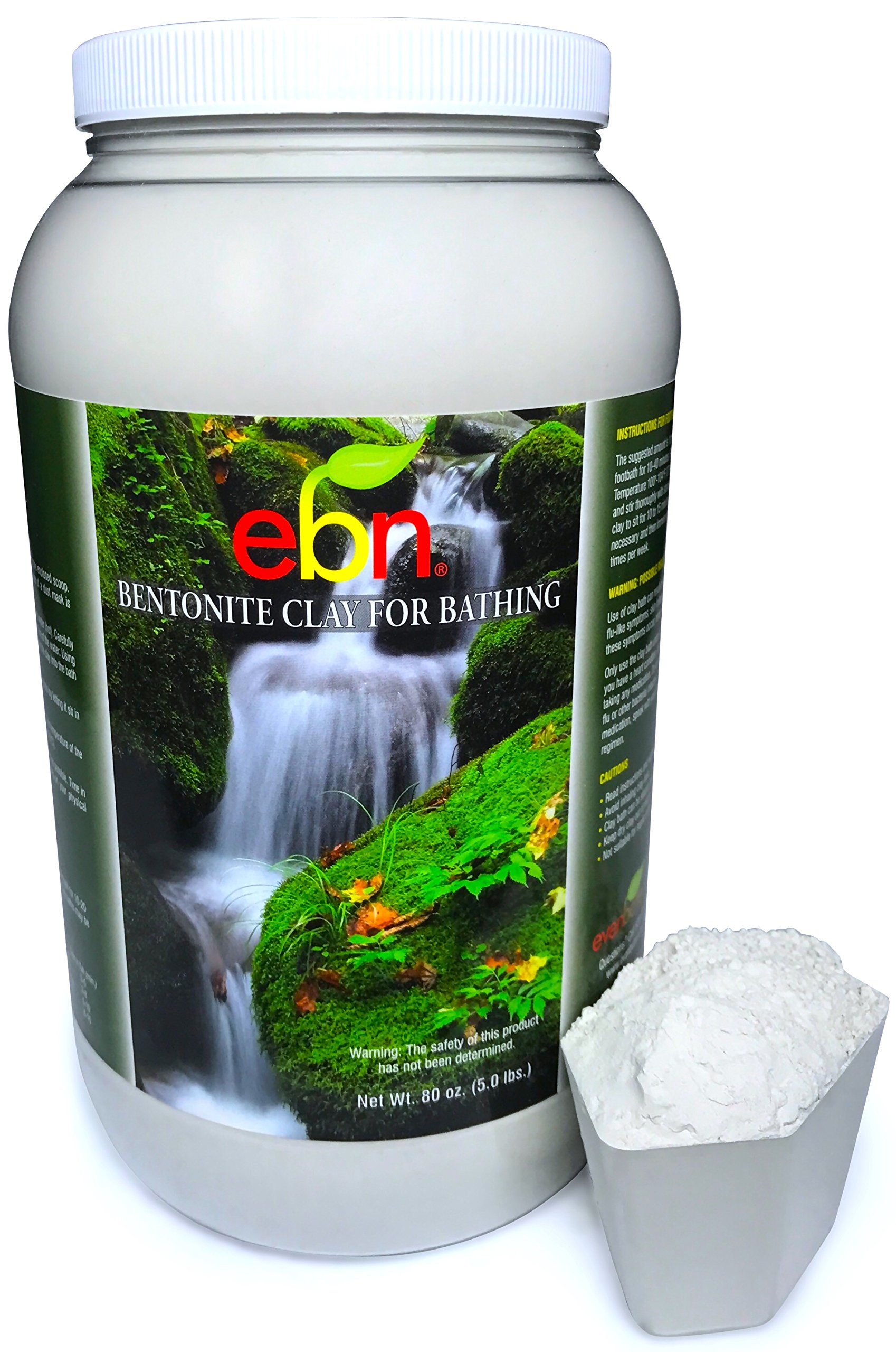 Evenbetternow Natural Health Solutions Cleansing Bentonite Clay Baths