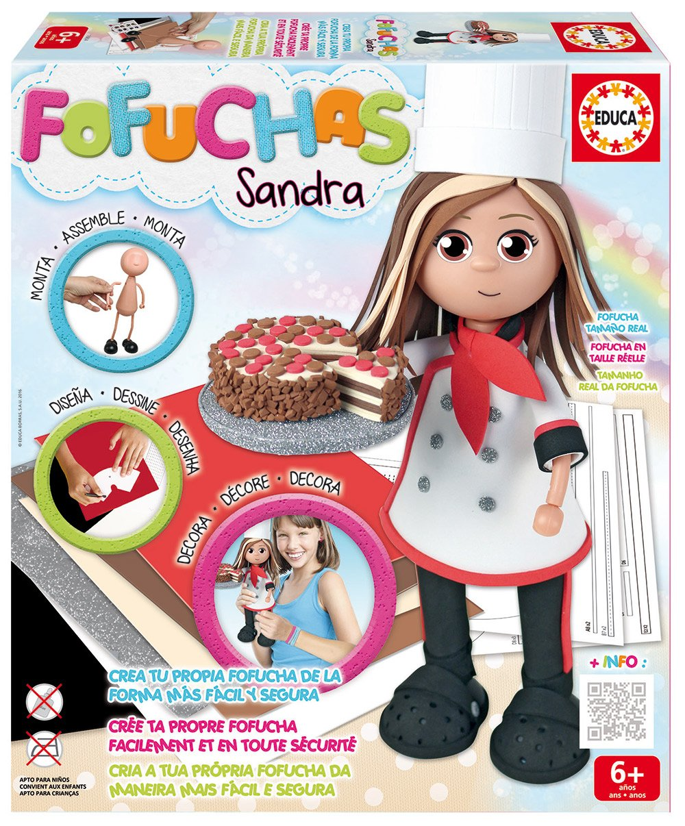 Fofuchas Doll Chef (Educa Borrás 16854.0)