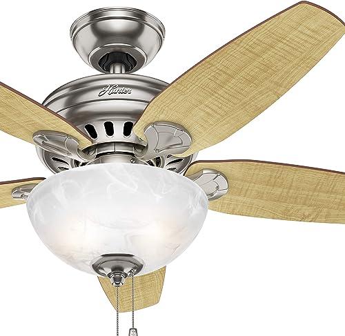 Hunter Fan 44 inch Brushed Nickel Indoor Ceiling Fan