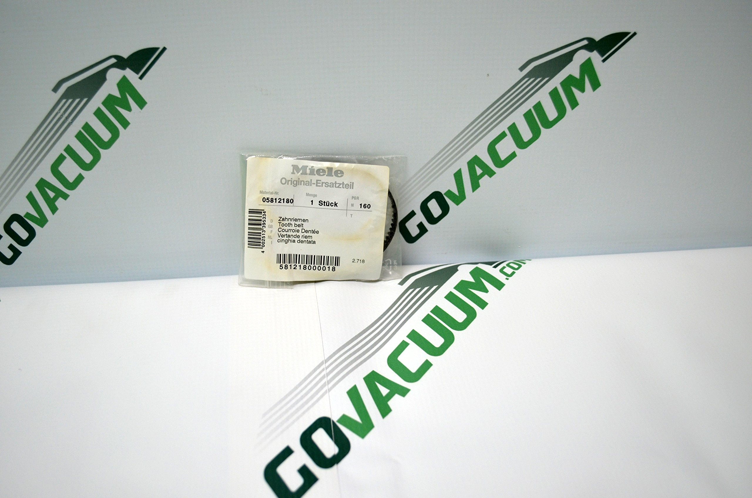 Miele Original Tooth Belt Made for Miele Seb234, Seb236 Power Head Vacuum Cleaner. Part# 05812180