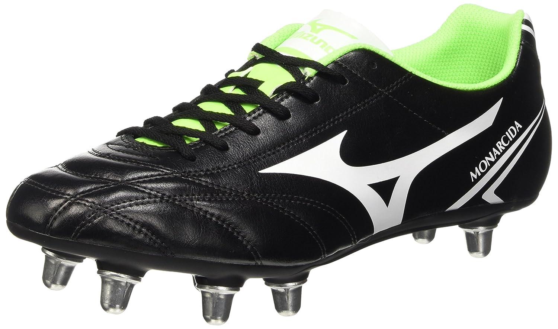 Amazon.com: Mizuno Monarcida SI Rugby Boots, Black/White, US9.5: Clothing
