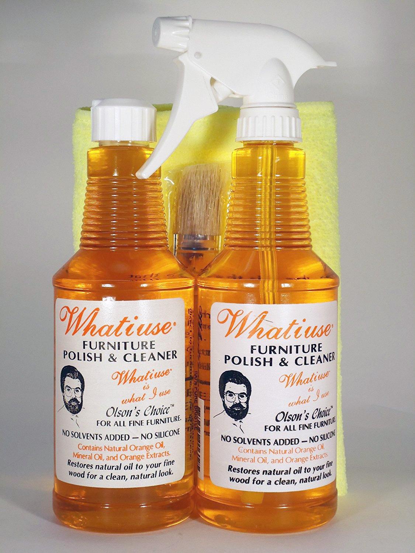 Whatiuse Orange Oil Furniture Polish and Cleaner by Whatiuse