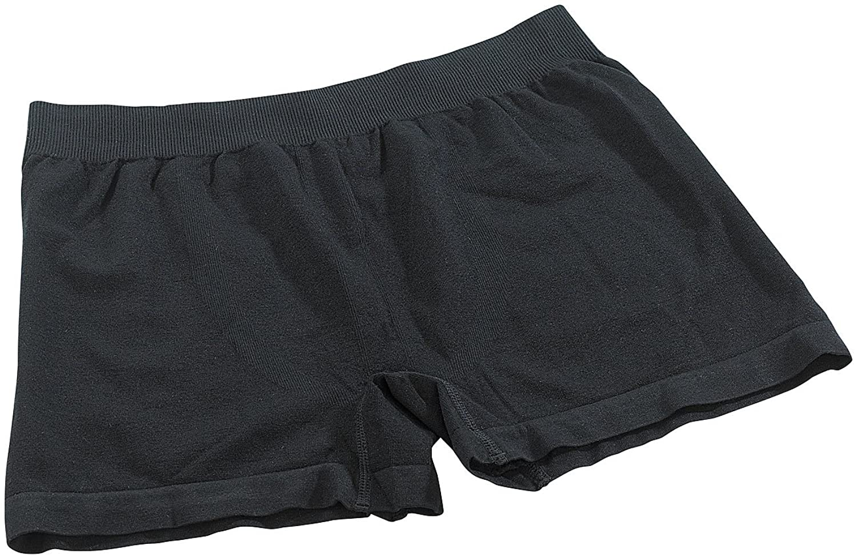 PEARL men Boxershorts aus Bambus-Viskose, 3 Stück, Gr. XL, schwarz