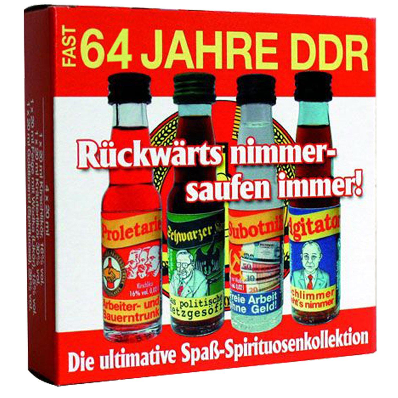 64 Jahre DDR Spirituosen