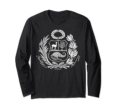 Unisex Escudo Nacional Peru - Peru Shirt - Polo Escudo Peru Small Black