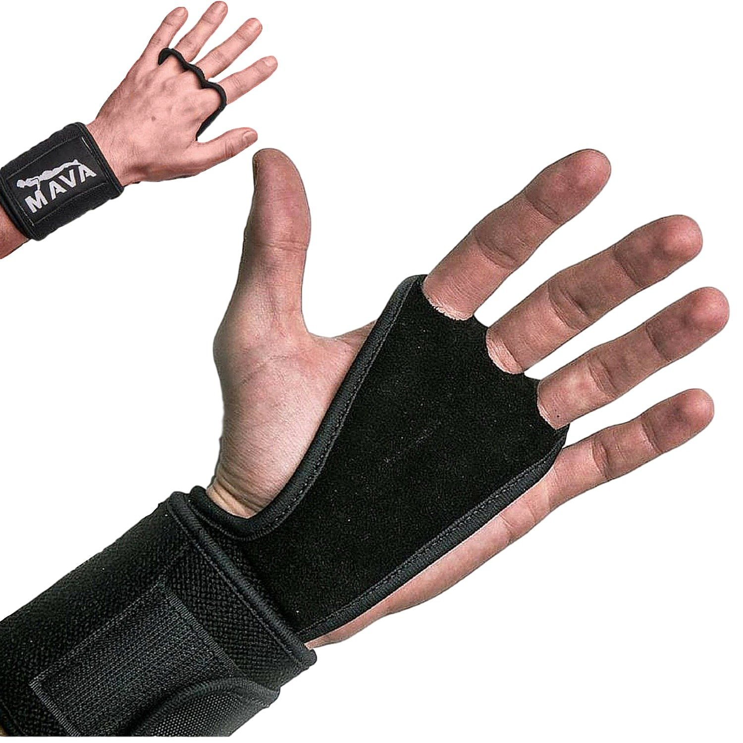 Mava Fitness Gloves: Mava Sports Hand Grips With Wrist Support Wraps