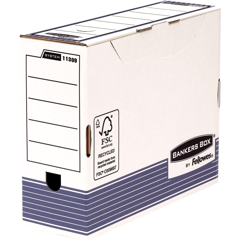 Bankers Box 1131102 y organizador caja 10 unidades, 200 mm, A4: Amazon.es: Oficina y papelería
