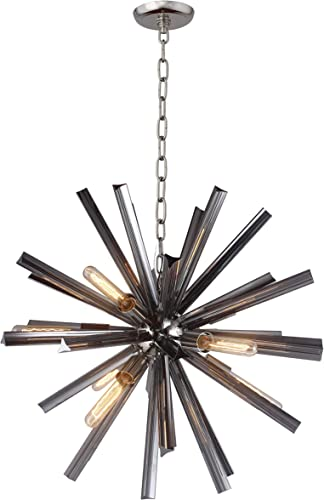 Axis Chandelier Sputnik Lamp Smoke Crystal Bar Orbit Chandelier
