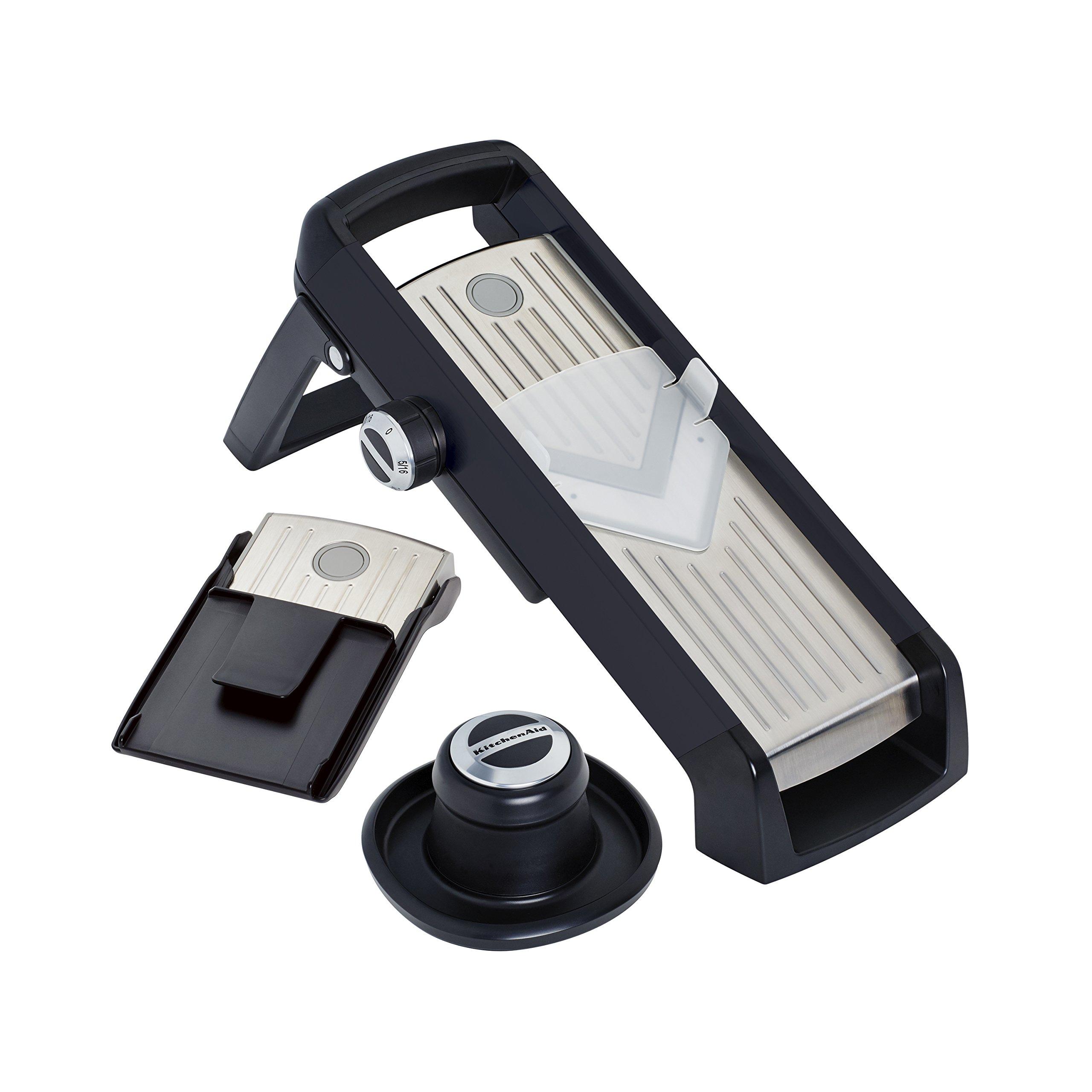 Kitchenaid KN310BXOBA Mandoline Slicer, Black, One Size by KitchenAid