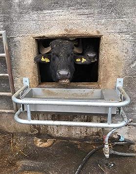ZooPiro - Bebedero para perros automatico de acero inoxidable con drenaje