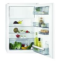 AEG SFA7882AAS Kühlschrank / energieeffizienter Kühlschrank mit Gefrierfach / 109 l Kühlraum / 14 l 4-Sterne Gefrierfach / Einbaukühlschrank mit Glasablagen / Klasse A++ / H: 88 cm / weiß