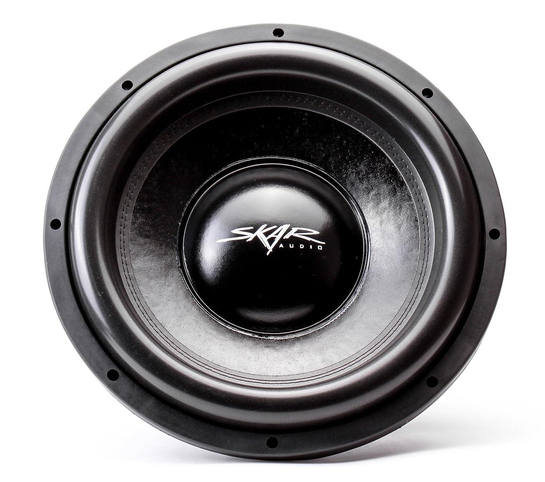 Skar Audio Evl 15 D2 2500 Watt Max Power Dual 2 Ohm 4 2ohm Speaker Wiring Diagram Car Subwoofer Cell Phones Accessories