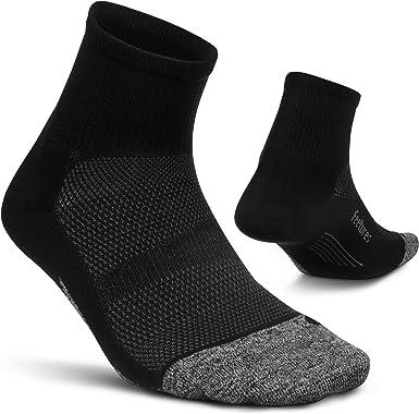 Quarter Elite Ultra Light Calzini da Corsa per Uomo e Donna Feetures