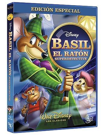 Basil, el raton superdetective Edición especial DVD: Amazon ...