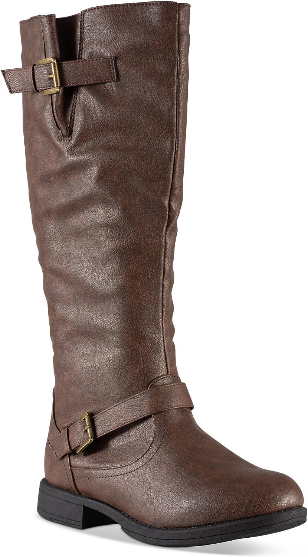Twisted Amira Women's Zipper Knee High